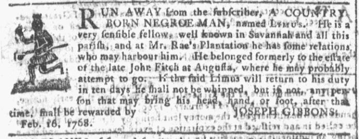 Mar 2 - 3:2:1768 Georgia Gazette