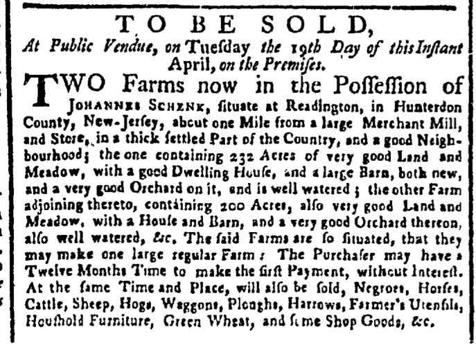 Apr 11 - New-York Gazette Weekly Post-Boy Slavery 1
