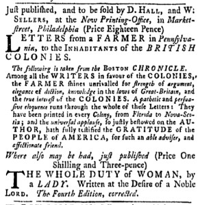 Apr 14 - 4:14:1768 Pennsylvania Gazette