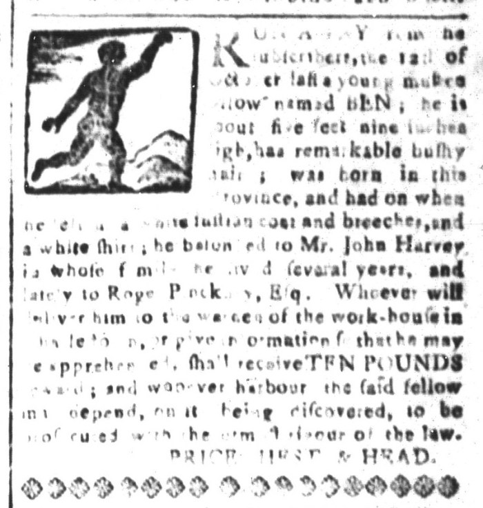 Apr 15 - South-Carolina and American General Gazette Slavery 2