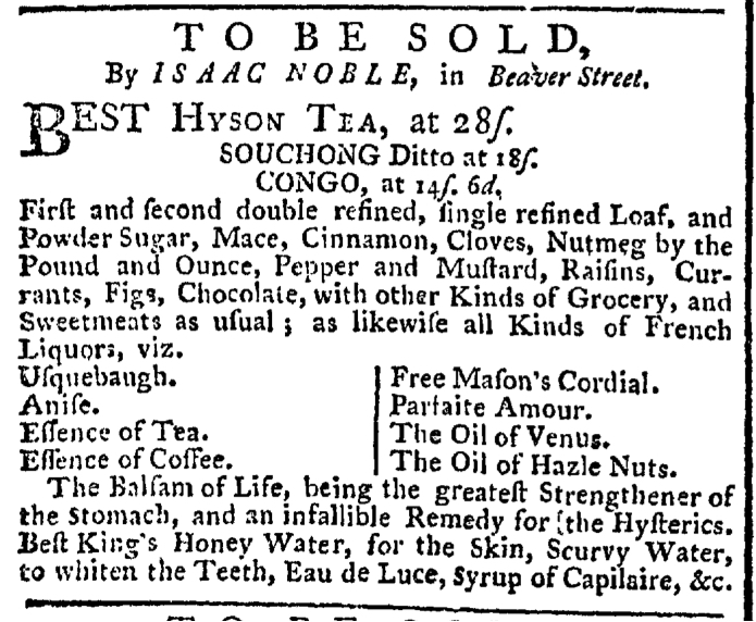 Apr 18 - 4:18:1768 New-York Gazette Weekly Post-Boy