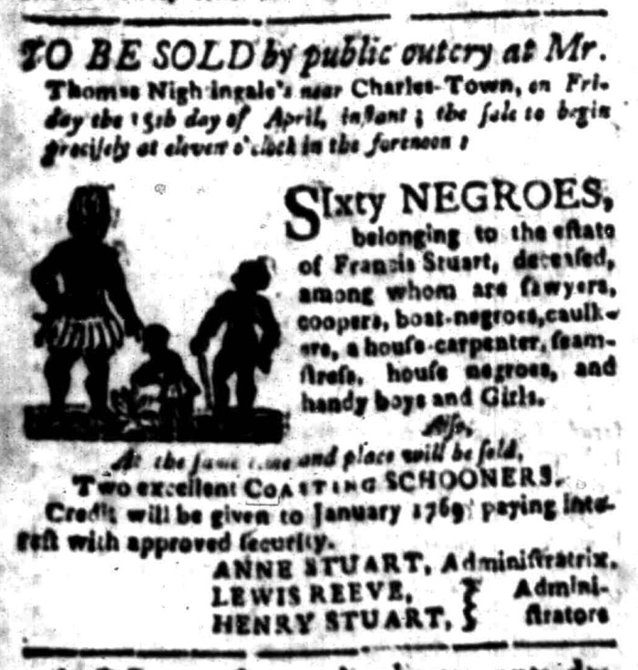 Apr 18 - South Carolina Gazette Slavery 6
