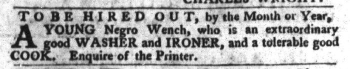 Apr 19 - South-Carolina Gazette and Country Journal Slavery 9