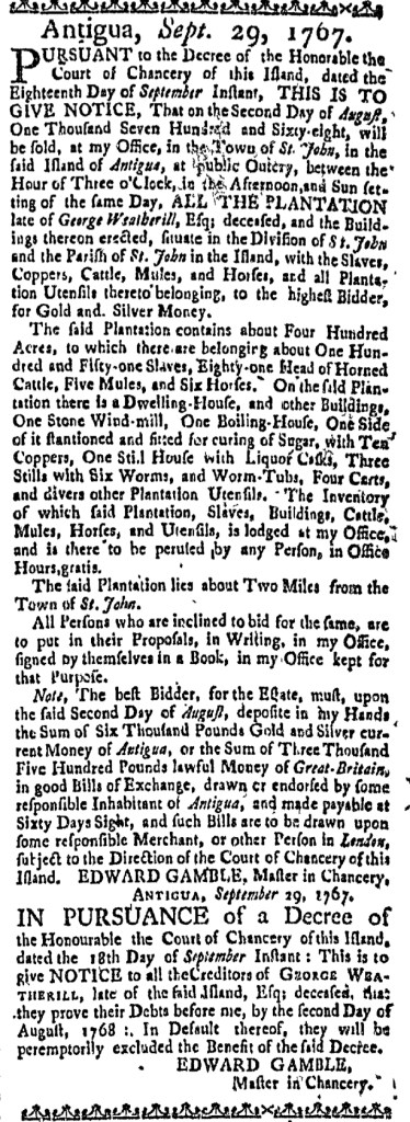 Apr 21 - Massachusetts Gazette Slavery 2
