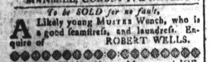Apr 22 - South-Carolina and American General Gazette Slavery 5
