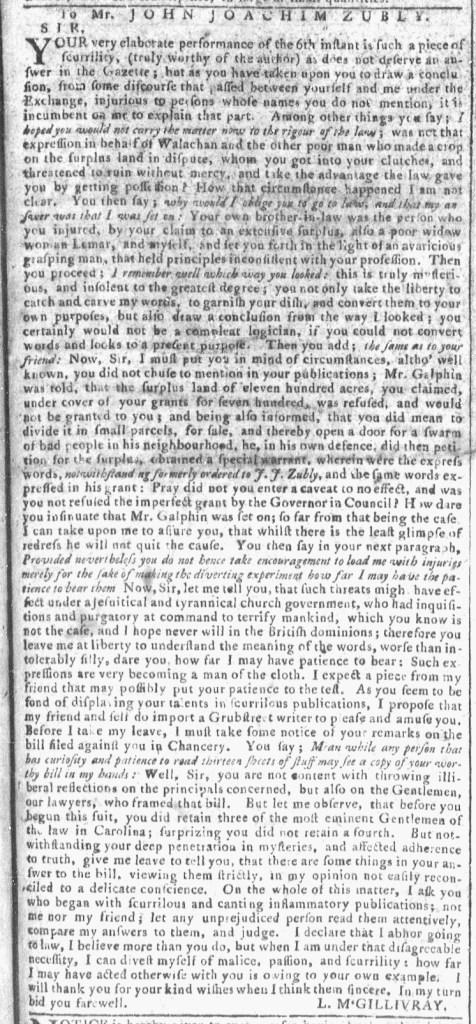 Apr 27 - 4:20:1768 Georgia Gazette