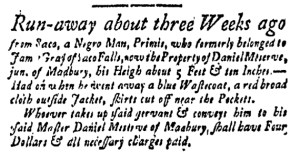 Jun 3 - New-Hampshire Gazette Slavery 1
