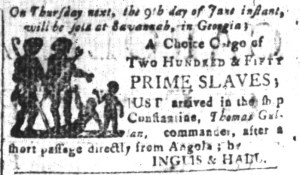 Jun 3 - South-Carolina and American General Gazette Slavery 2