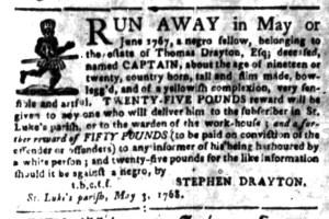May 16 - South Carolina Gazette Slavery 3