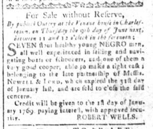 May 27 - South-Carolina and American General Gazette Slavery 5
