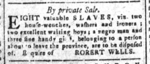 May 27 - South-Carolina and American General Gazette Slavery 9