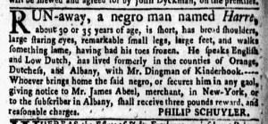 May 30 - New-York Gazette Weekly Mercury Supplement Slavery 3