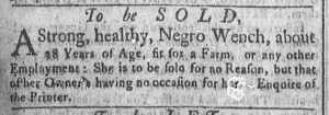 May 30 - Newport Mercury Slavery 1
