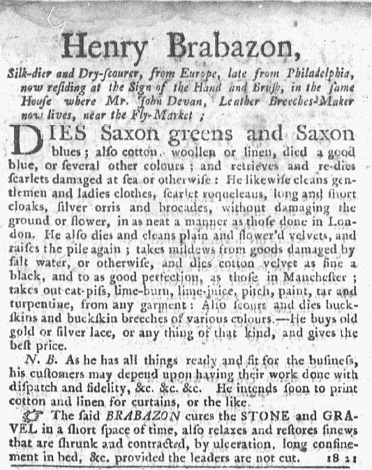 May 8 - 5:5:1768 New-York Journal Supplement