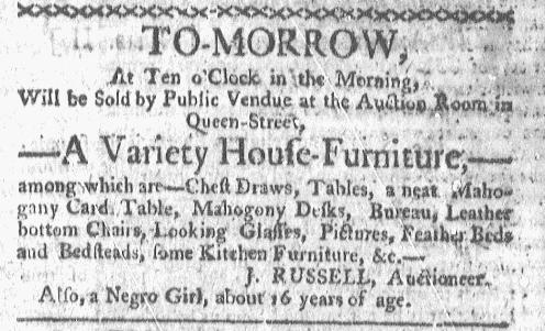 May 9 - Boston-Gazette Slavery 1