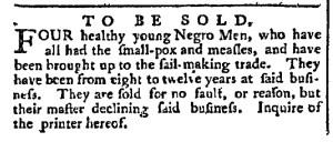 May 9 - Pennsylvania Chronicle Slavery 2