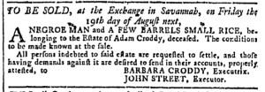 Jul 13 - Georgia Gazette Slavery 7