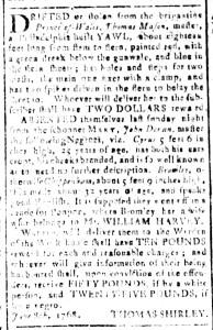 Jul 15 - South Carolina and American General Gazette Slavery 7