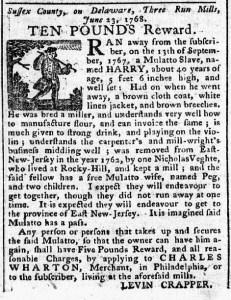Jul 4 - 7:4:1768 Pennsylvania Chronicle