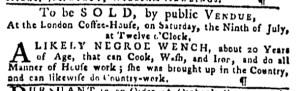 Jul 7 - Pennsylvania Gazette Slavery 3