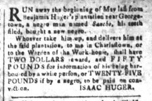 Jun 10 - South-Carolina and American General Gazette Slavery 6