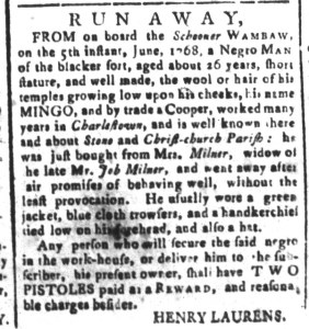 Jun 17 - South-Carolina and American General Gazette Slavery 5