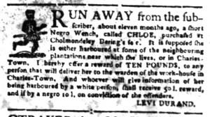 Jun 20 - South-Carolina Gazette Slavery 10
