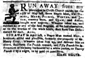 Jun 20 - South-Carolina Gazette Slavery 3