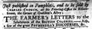 Jun 21 - 6:21:1768 South-Carolina Gazette and Country Journal