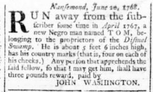 Jun 23 - Virginia Gazette Rind Slavery 4