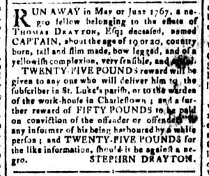 Jun 24 - South-Carolina and American General Gazette Slavery 11
