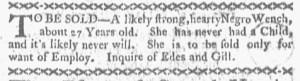 Jun 27 - Boston-Gazette Slavery 3