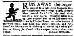 Jun 27 - South Carolina Gazette Slavery 12