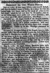 Jun 28 - South-Carolina Gazette and Country Journal Slavery 15