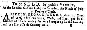 Jun 30 - Pennsylvania Gazette Slavery 2