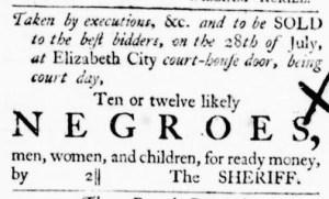 Jun 30 - Virginia Gazette Purdie and Dixon Slavery 5