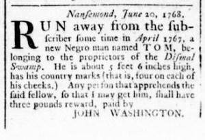 Jun 30 - Virginia Gazette Rind Slavery 4