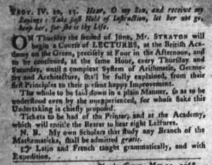 Jun 7 - 6:7:1768 South-Carolina Gazette and Country Journal