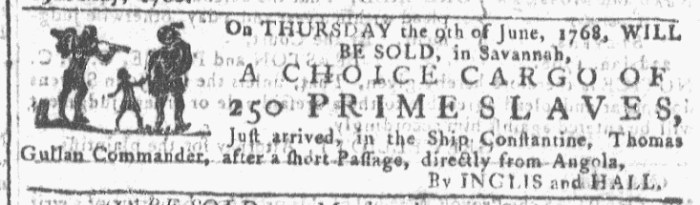 Jun 8 - 6:8:1768 Georgia Gazette