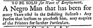 Aug 8 - Boston Evening-Post Supplement Slavery 2