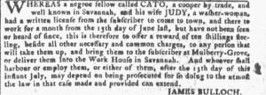 Jul 20 - Georgia Gazette Slavery 3