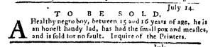 Jul 21 - Pennsylvania Journal Slavery 1