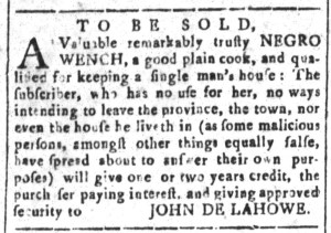 Jul 22 - South Carolina and American General Gazette Slavery 8