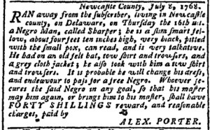 Jul 25 - Pennsylvania Chronicle Slavery 1