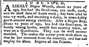 Jul 25 - Pennsylvania Chronicle Slavery 2
