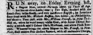 Aug 15 - New-York Gazette Weekly Post-Boy Slavery 1