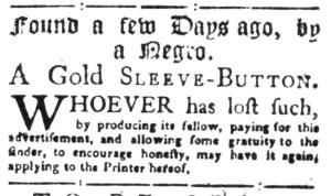 Aug 15 - South-Carolina Gazette Slavery 1