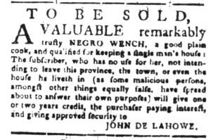 Aug 15 - South-Carolina Gazette Slavery 2