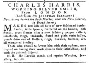 Aug 16 - 8:16:1768 South-Carolina Gazette and Country Journal