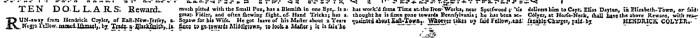 Aug 22 - New-York Gazette Weekly Mercury Slavery 2